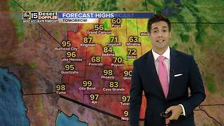 Temperatures heating up across Valley throughout week - Video