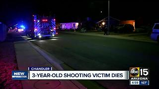 More details released after a 3-year-old girl was shot and killed by her father Thursday night - Video