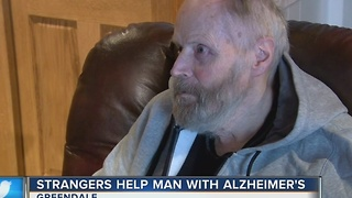 Greendale man sufftering from Alzeimer's receives outpouring of support - Video