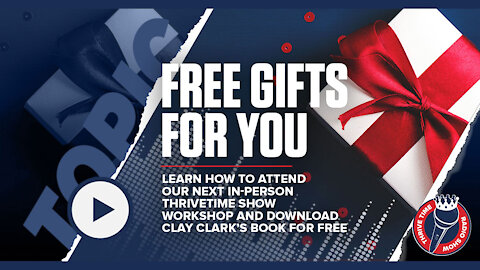 Gifts for You   Attend Our Next in-Person Business Conference & Download Clay Clark's Book for Free