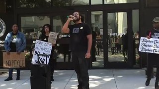 Stephon Clark: Protesters Call For Justice at Sacramento County District Attorney Office