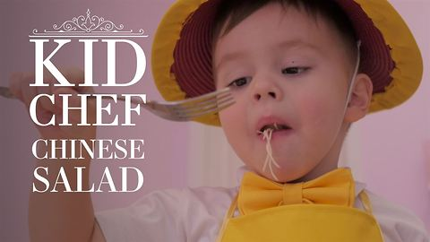 Kid Chef: How (not) to cook Chinese Salad