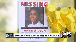 Family holds vigil for Jesse Wilson - Video