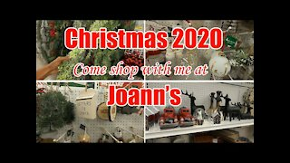 🎅 CHRISTMAS SHOP WITH ME 2020 AT JOANN'S | ULTIMATE CHRISTMAS 🎄 TREE & AFFORDABLE FARMHOUSE DECOR