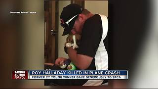 Community remembers former MLB pitcher Roy Halladay killed in plane crash - Video
