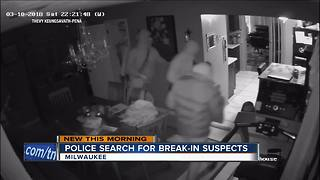 Shocking surveillance video shows armed home break-in on Milwaukee's south side - Video