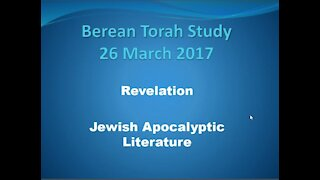 Introduction to the study of Propecy and the Book of Rev