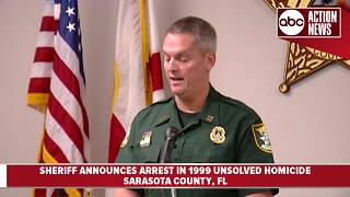 Sarasota County Sheriff announces important developments in 1999 unsolved homicide