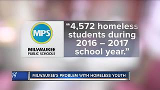 Exploring Milwaukee's problem with homeless youth - Video