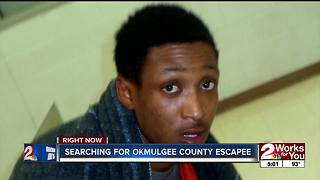 Inmate escapes from Okmulgee County Jail