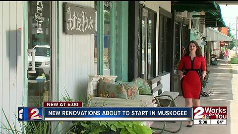 Renovations expanding in downtown Muskogee