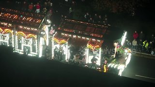 Impressive drone footage from this year's Bridgwater Carnival