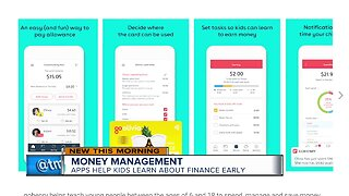 Apps help kids learn about finance early