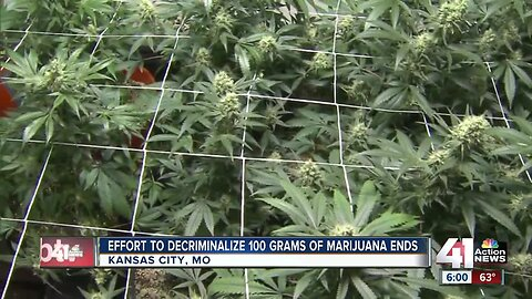 KCMO effort to decriminalize certain amounts of marijuana ends without deal