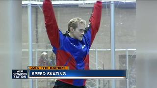 2002 Gold medalist speed skater discusses Team USA - Video