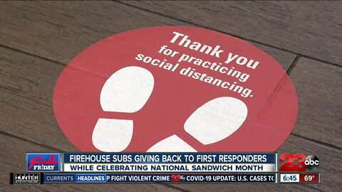 Firehouse Subs giving back to first responders