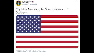 """The Goldfish Report No. 639 - """"My Fellow Americans, The Storm Is Upon Us......."""" GOD BLESS"""