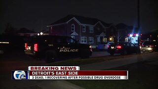 2 young girls find 4 adults unresponsive in Detroit home
