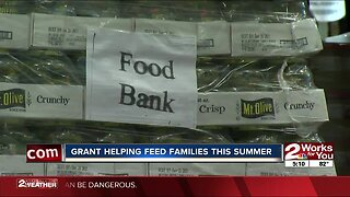 Grant helping feed families this summer