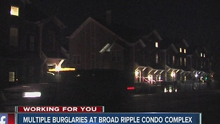 Multiple burglaries reported in Broad Ripple neighborhood - Video