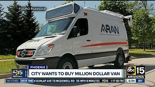 Phoenix wants to buy million-dollar van for road projects - Video