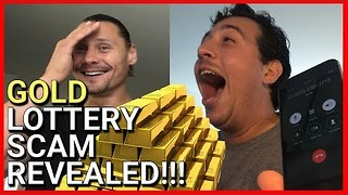 Man Hilariously Debunks Lottery Email Scammer - Video
