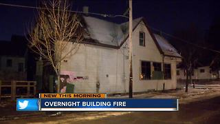 Boarded-up bar starts on fire again on Milwaukee's north side