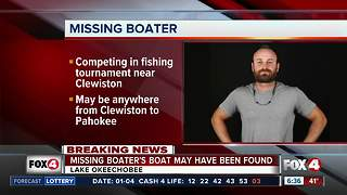 Missing fisherman last seen on Lake Okeechobee - 6:30am update