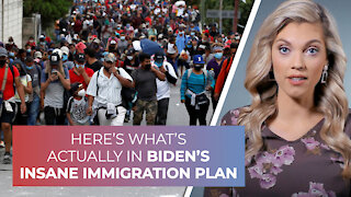 Here's what's actually in Biden's insane immigration plan