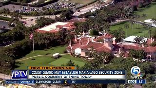 Coast Guard may establish Mar-a-Lago security zone - Video