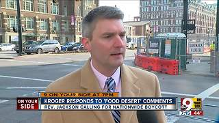 Kroger responds to 'food desert' comments - Video