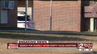 Boyfriend shoots girlriend in North Tulsa - Video