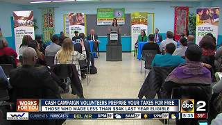 CASH Campaign of Maryland helps workers get free tax refunds - Video