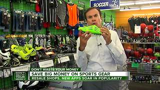 Save big money on sports gear - Video