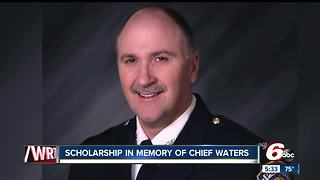 Scholarship named in honor of Indianapolis Deputy Chief Jim Waters - Video