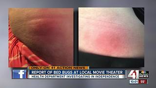 Independence Health Department investigating claim of bedbugs at AMC theater - Video