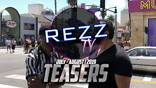 Rezz Teasers   July - August 2019
