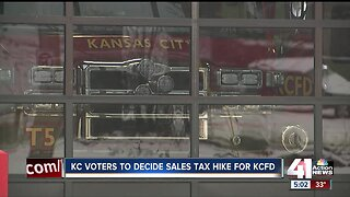 KC voters to decide sales tax hike for KCFD