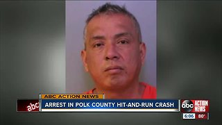 Polk Sheriff's Office arrests driver in hit-and-run that caused woman to lose her unborn child