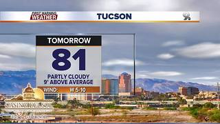 Chief Meteorologist Erin Christiansen's KGUN 9 Forecast Thursday, March 8, 2018 - Video