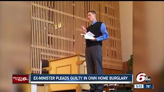Ex-pastor pleads guilty in home burglary - Video