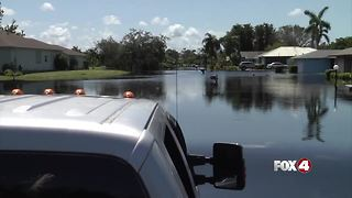 Heroes of the Hurricane: Big trucks help flooded residents check their homes - Video