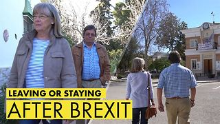 Brexit hits home: One couple's impossible choice - Video