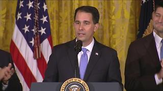 Governor Scott Walker at White for Foxconn Announcement