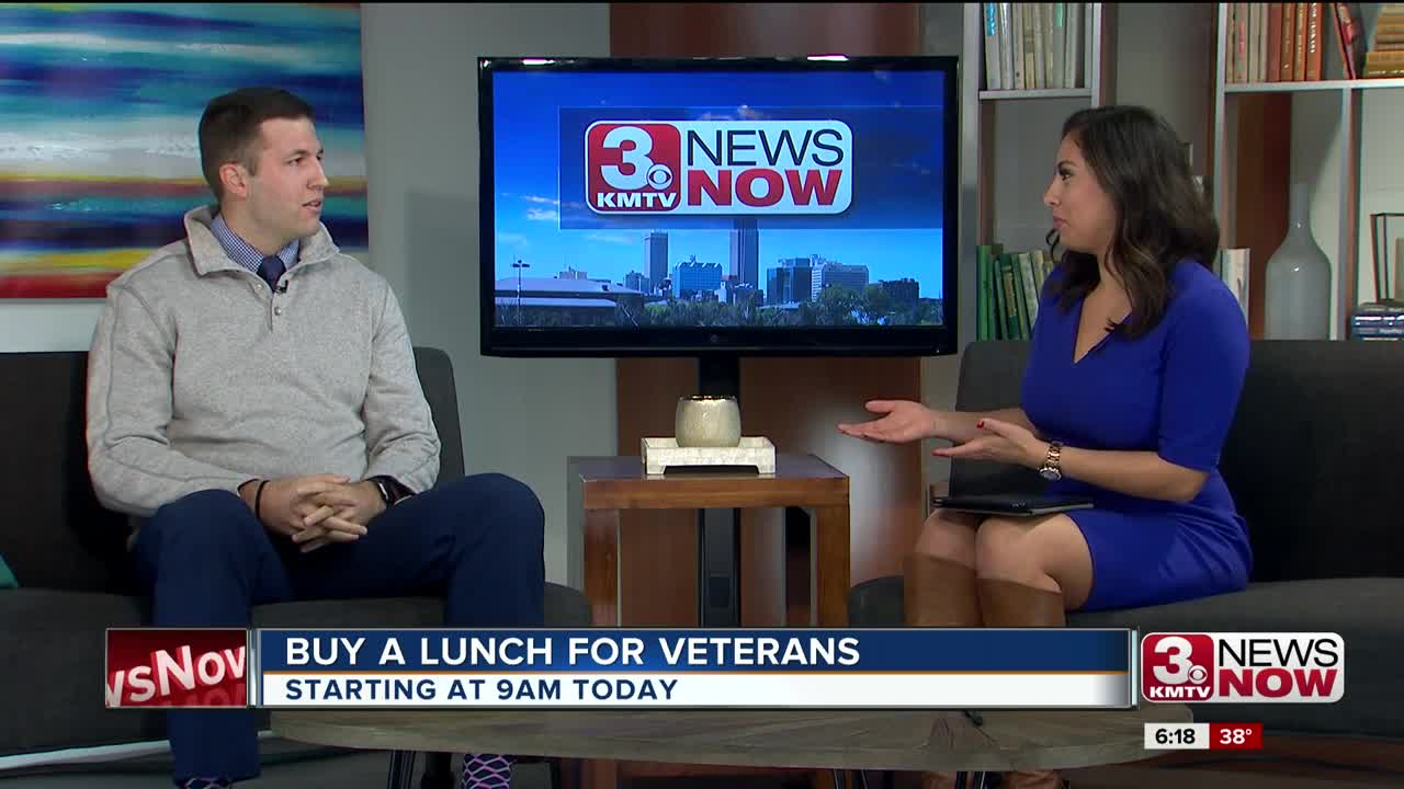 Buy a Lunch for Veterans Interview