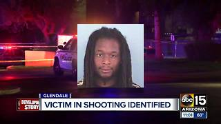 Victim in Glendale shooting identified - Video