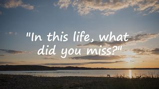 A Touching Story: In This Life, What Did You Miss? - Video