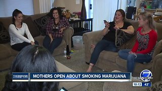 Mothers open up about smoking marijuana