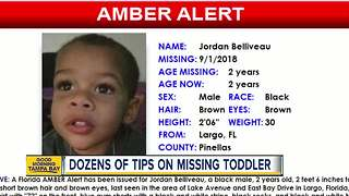 Police receiving dozens of tips since Amber Alert issued for 2-year-old Largo boy
