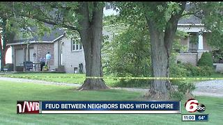 IFD firefighter accused of shooting neighbor in Greenwood - Video